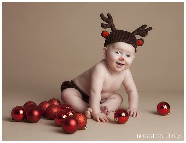 Child Christmas photography