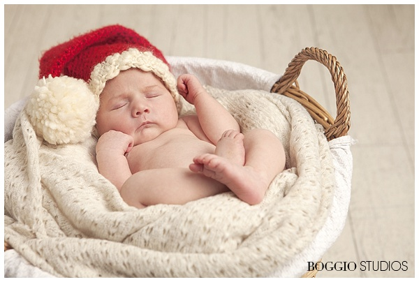 Baby Christmas photoshoot