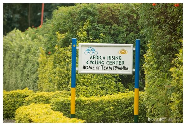 Team Rwanda Cycling sign