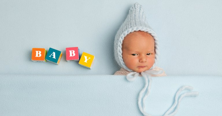 Newborn Portraits with baby boy Boggio