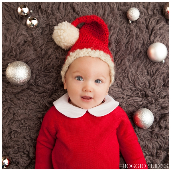 Baby's First Christmas Photo Shoot - Boggio Studios