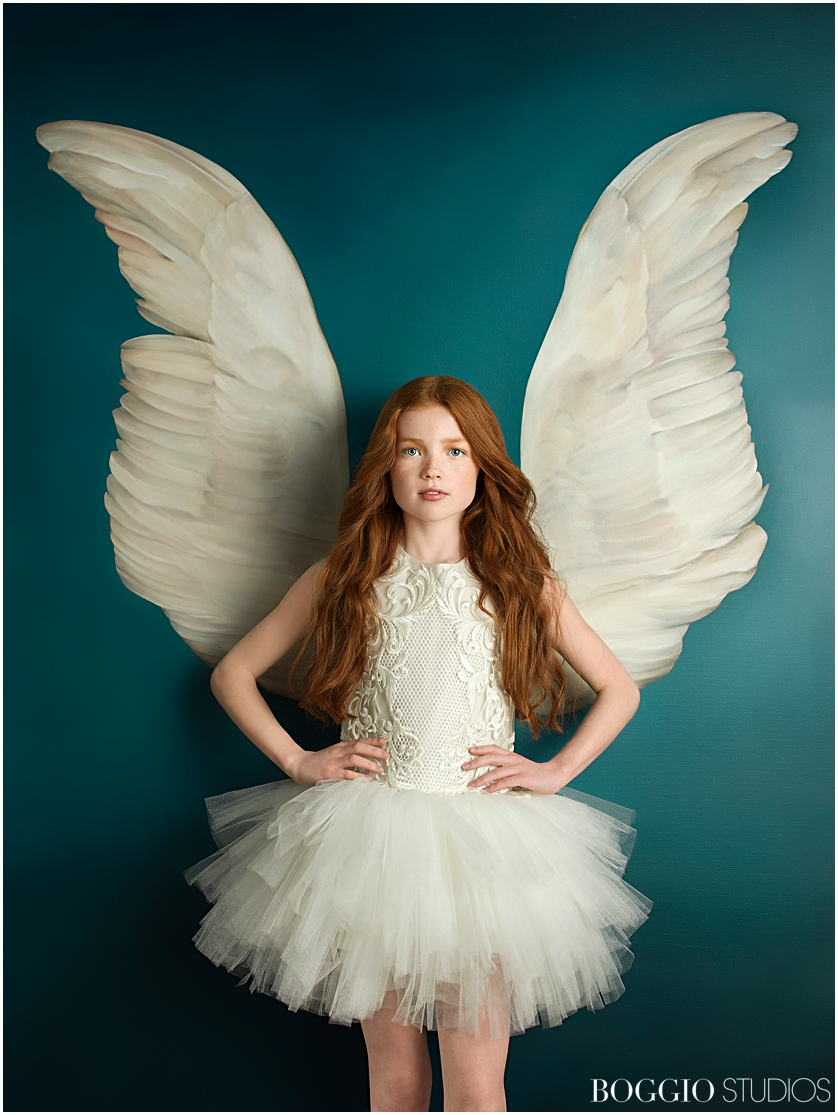 Winged portraits with Julia Boggio and Amy Judd