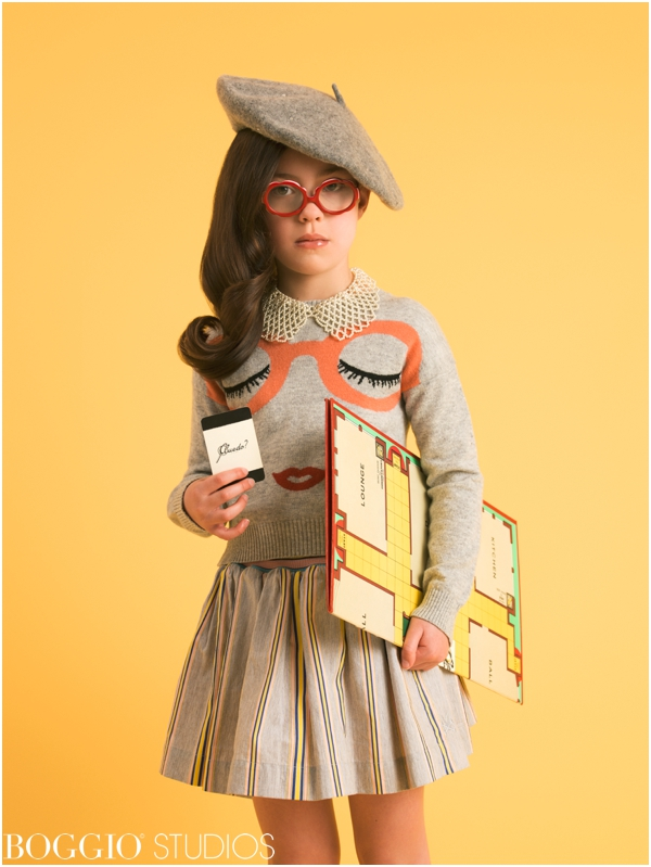 Styled photoshoot for kids