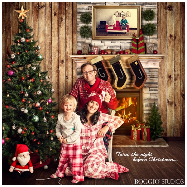 Styled Christmas And Holiday Card Photo Shoots Uk