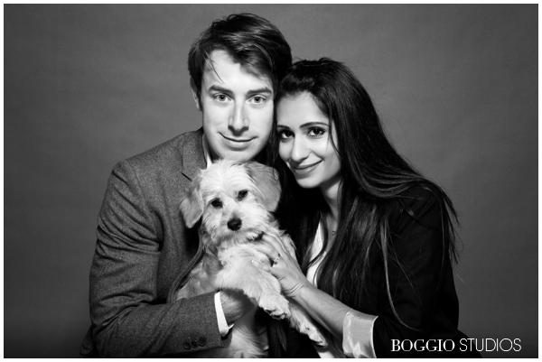 Young Couple With Their New Puppy