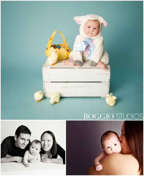 Cute baby costumes for studio shoots