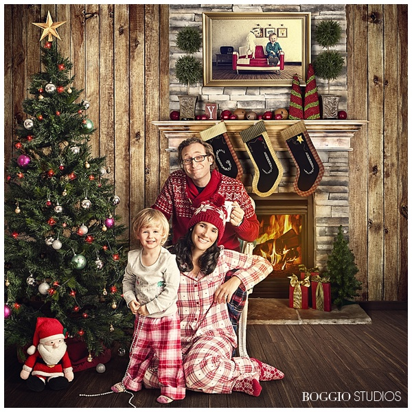 Family Christmas shoot