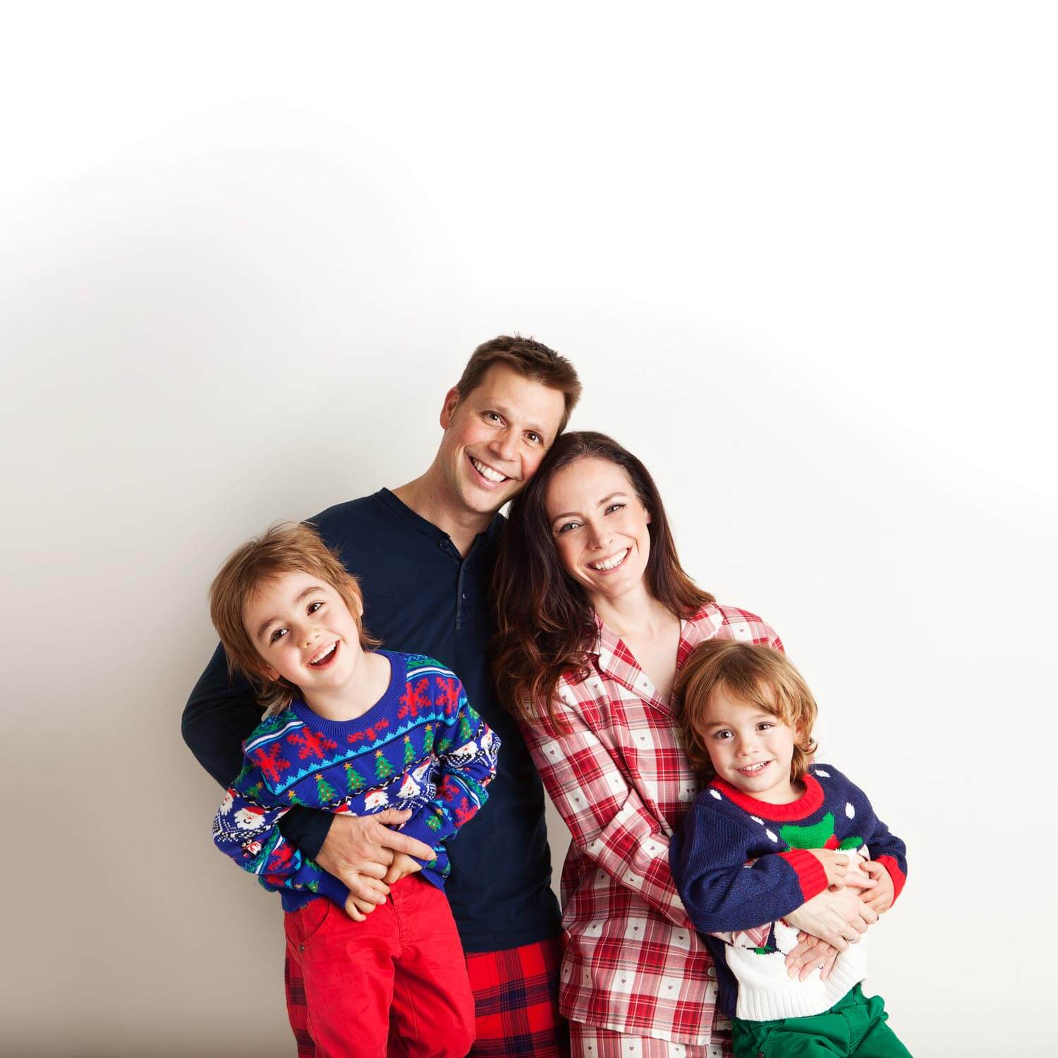 Family Christmas Portraits in Wimbledon London
