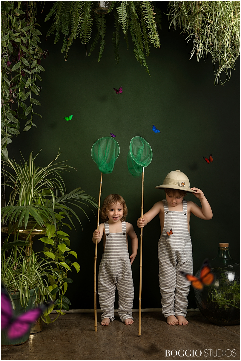 Fun photoshoot for kids