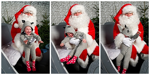 Photos with Father Christmas