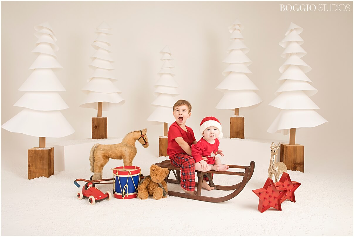 Festive photo shoots for kids in London