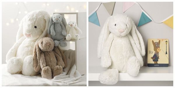 Bashful bunny easter toy from The White Company
