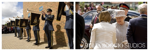Queen's arrival at St Marks Academy for Diamond Jubilee by Marte Rekaa for Julia Boggio