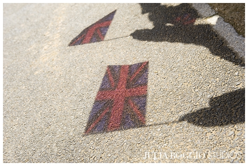 Flag waving for Queen's Diamond Jubilee at St Marks Academy by Julia Boggio