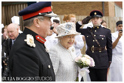 The Queens departs for Richmond as part of her Diamond Jubilee by Julia Boggio