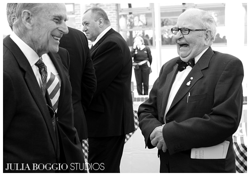 Prince Philip jokes with the people of Merton at the Diamond Jubilee by Julia Boggio