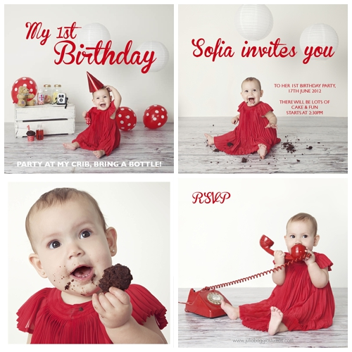 Inspiration for first birthday party by Julia Boggio