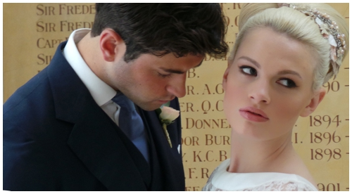 Bride and groom at RSA for Wedding Sanctuary, using Beauty Face mode on Samsung Galaxy Camera