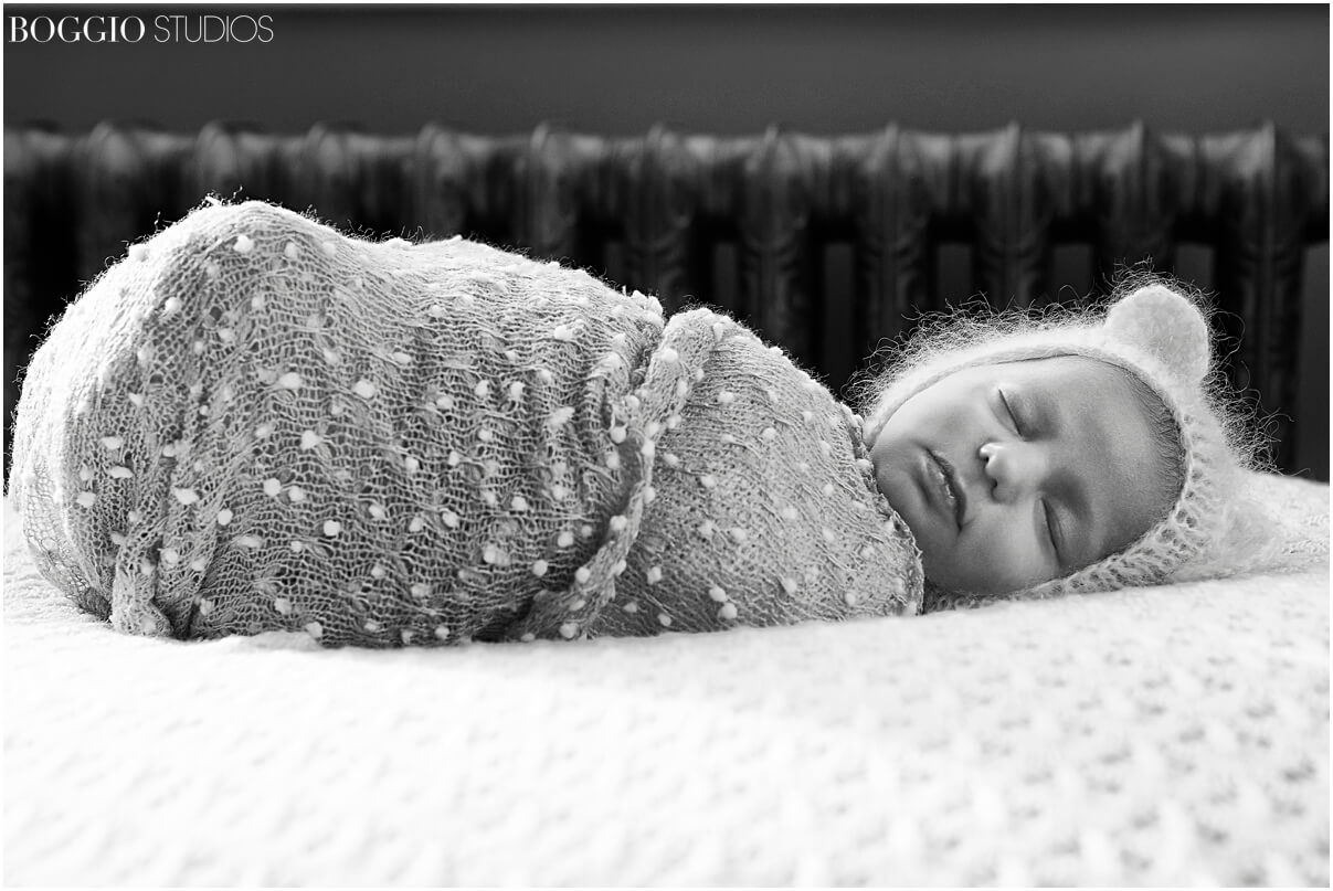 At home newborn photography London
