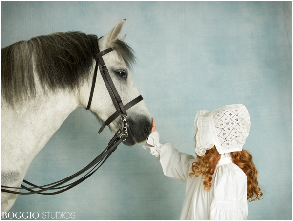 Child and pony photography