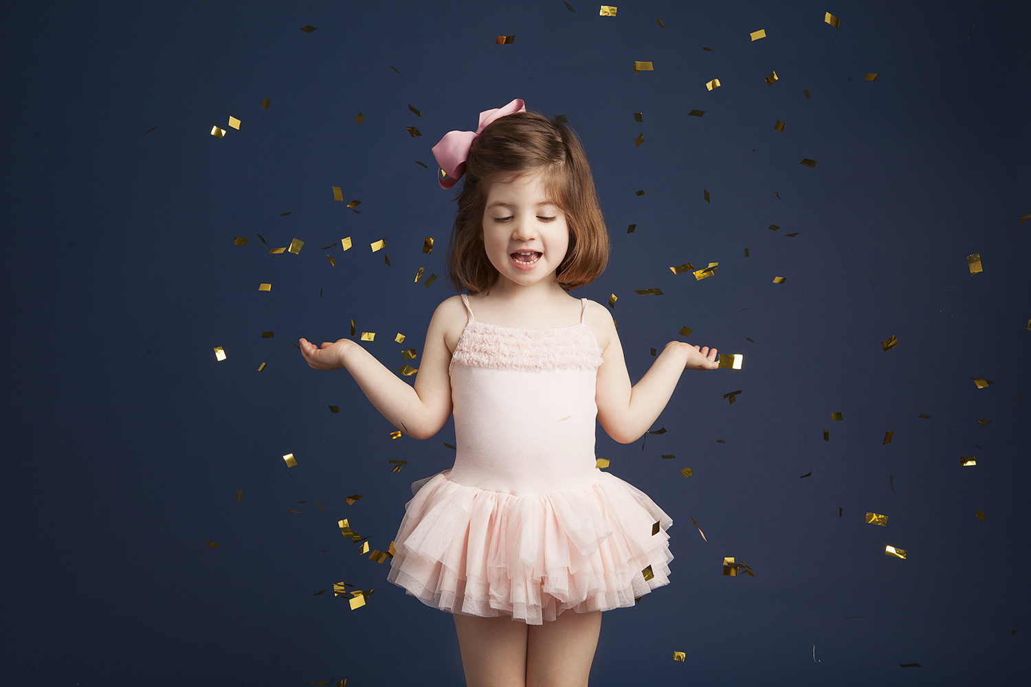 ballerina shoot for little girls at boggio studios