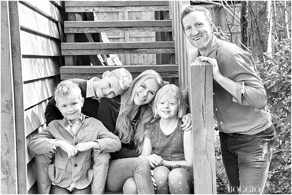 Will Greenwood and family for Boggio Magazine Vol II