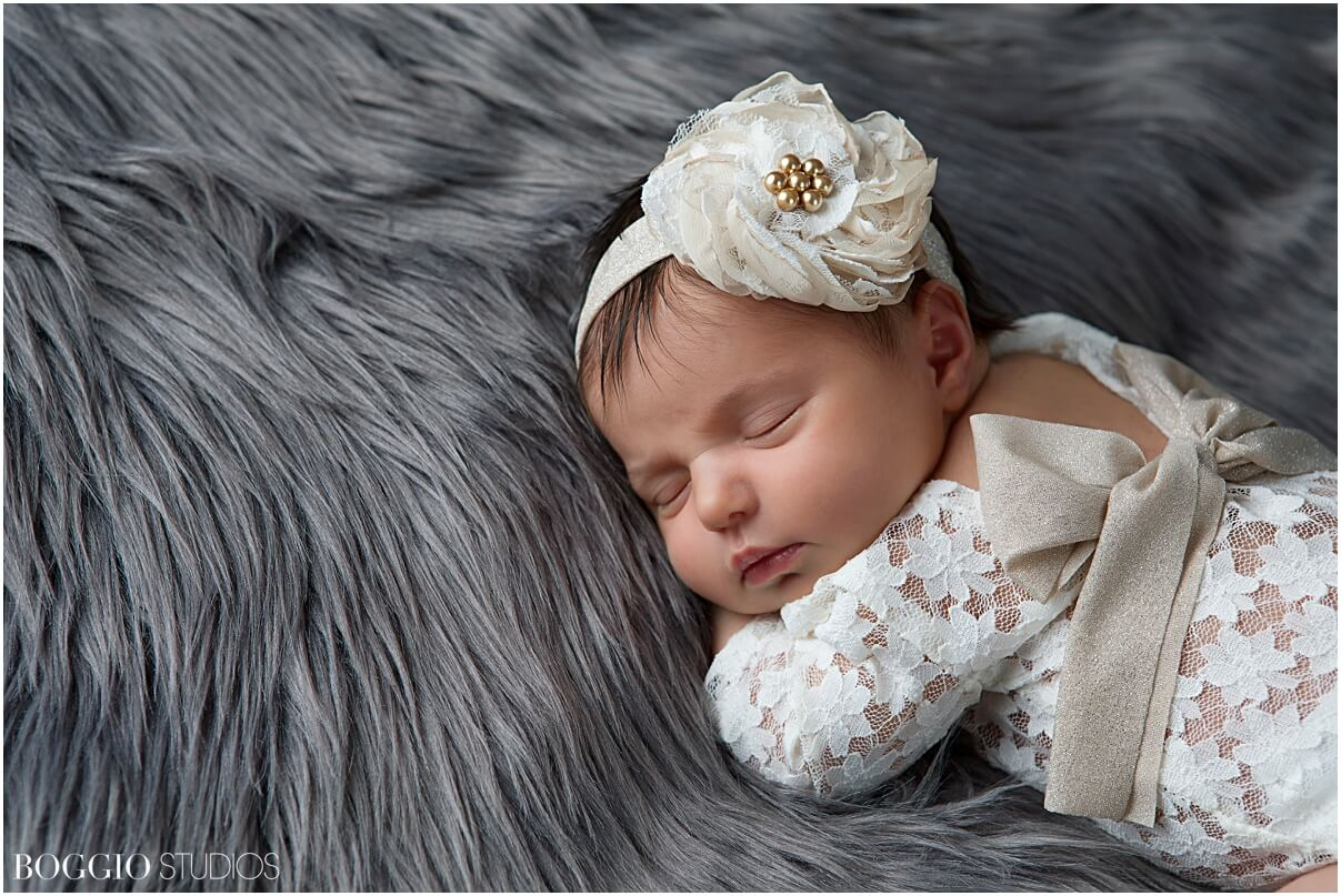 Styled newborn photography