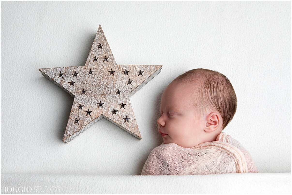 Christmas newborn shoot