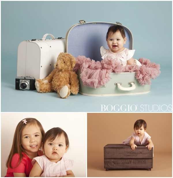 Photography for children using fun props London