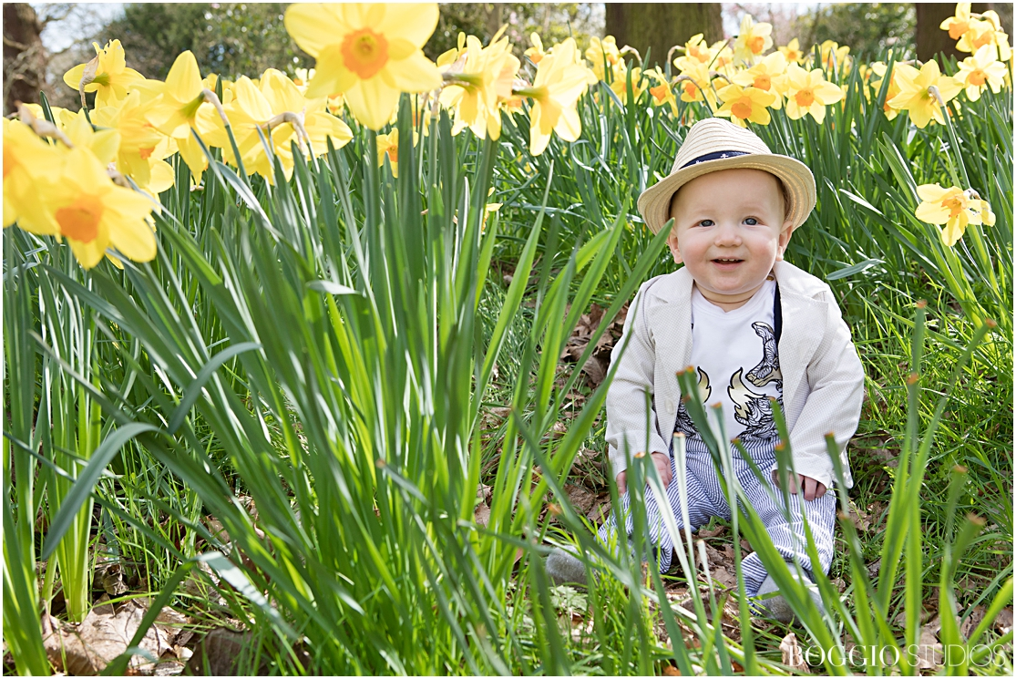 ideas for baby photoshoots in Spring