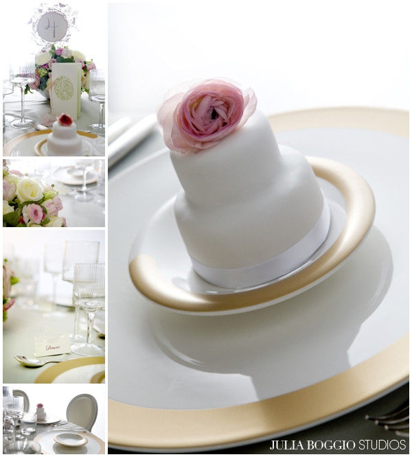 Place setting inspiration for weddings