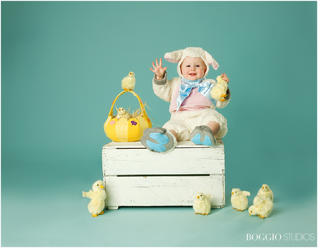 Lamb outfit for babies