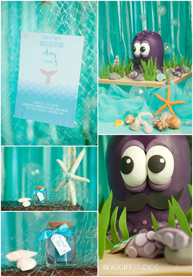 Mermaid party favours and treats