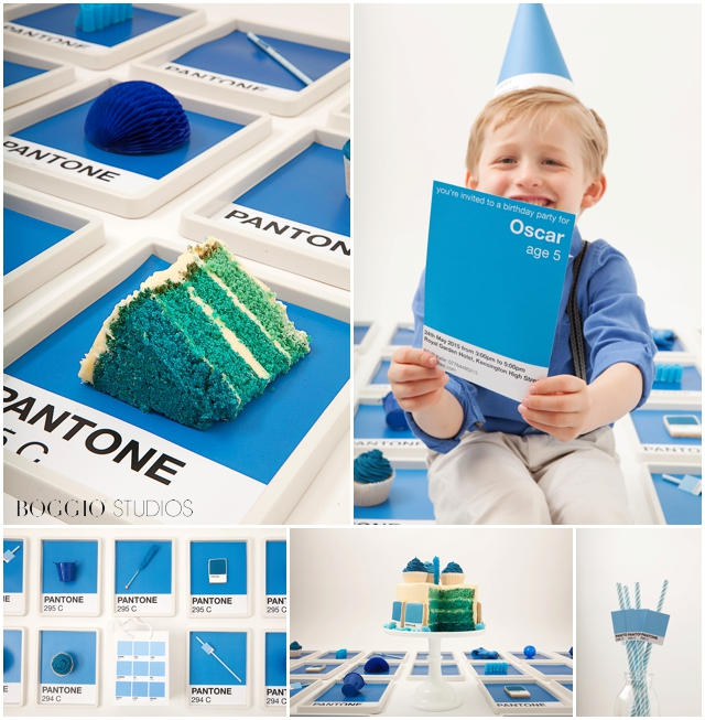 Pantone cake by Cakes by Robin