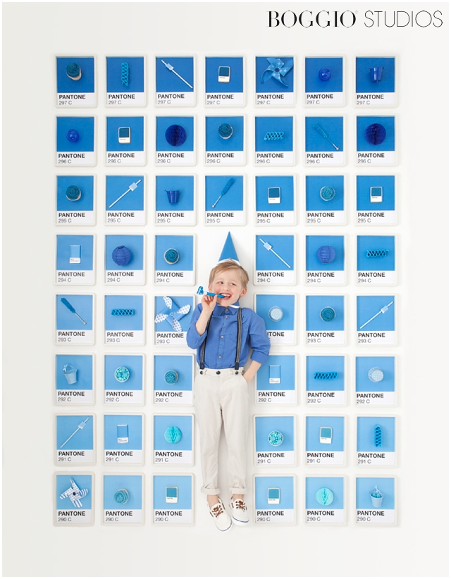 Pantone themed birthday party for children