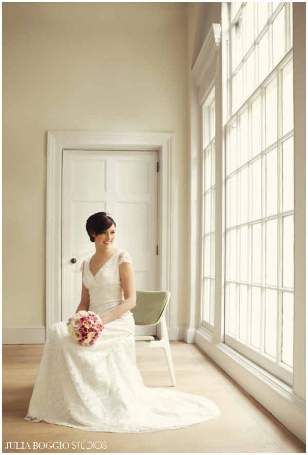 bride & groom at RSA House, photographed by Julia Boggio, Model Sjaniel Turrell